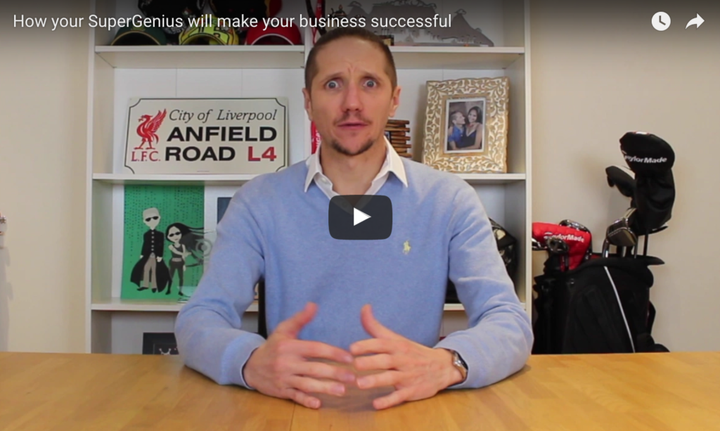 Ryan Pinnick - SuperGenius - How your SuperGenius will make your business successful
